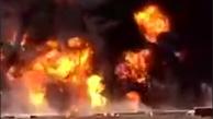 آتش سوزی در مرز دوغارون + 2  فیلم از حادثه