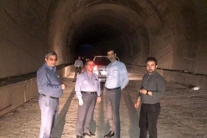 بررسی میزان پیشرفت راه آهن قزوین- رشت از سوی مدیرعامل تراورس