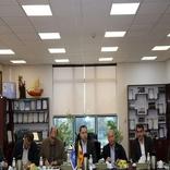 جلسه سازمان بنادر جهت بررسی و رفع مشکلات سرمایهگذاری و عملیات بندری در بندر امیرآباد