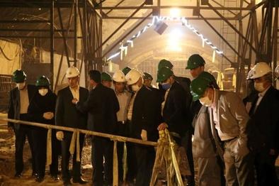 اصفهان با سرعت بسیار طرح های عمرانی را پیش می برد/ کمک 100 میلیاردی دولت به پروژه مجموعه پل های شهید سلیمانی