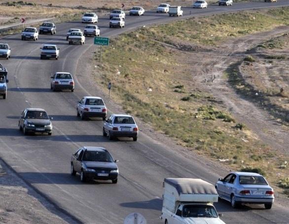 افزایش 11 درصدی تردد در پرترددترین جاده اهر