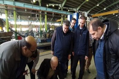 بازسازی اولین زبانه و ریل پهلویی در شرکت صنایع ریلی ایران