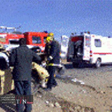 یک کشته در سانحه رانندگی محور رشت لاهیجان