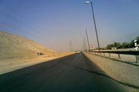 احداث جاده تجریان - بان خشک