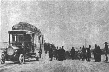 اولین اتوبوس از کجا به ایران آمد؟