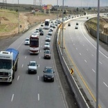 افزایش تردد وسایل نقلیه سنگین در محورهای مواصلاتی ایلام