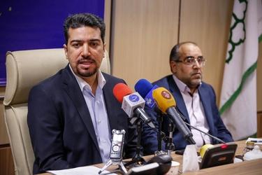 نشست خبری مدیر عامل سازمان مدیریت و نظارت بر تاکسیرانی تهران