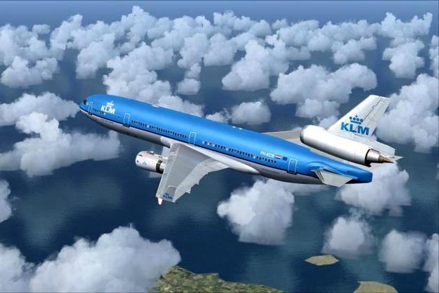 KLM بر خلاف ادعایش در حال عبور از آسمان ایران است