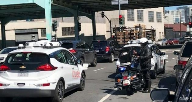 صدور اولین قبض جریمه پلیس برای یک خودرو خودران