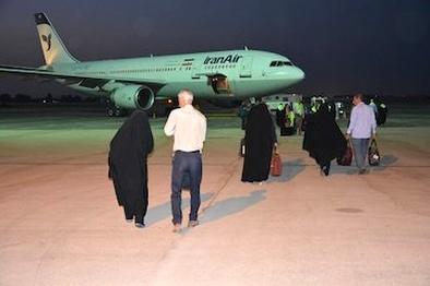 اعزام نخستین گروه زائران خانه خدا از فرودگاه زاهدان