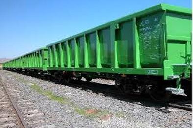 اولین سری واگن های لبه بلند سفارش شرکت فولاد یار طوس تحویل داده شد