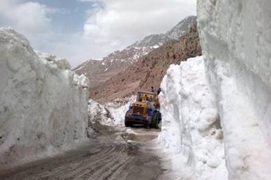 جاده سیسخت-پادنا تا پایان زمستان مسدود است