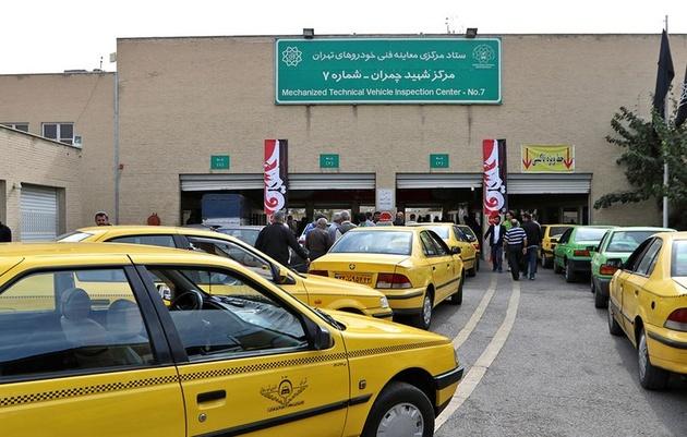 معاینه فنی تاکسیهای پایتخت در هفته تهران رایگان شد