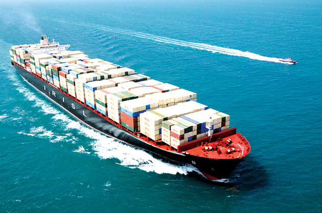توقف 6 کشتی در بنادر چین