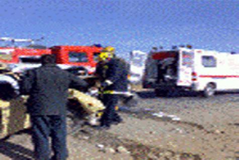چهار کشته و چهار مجروح در محور دلگان - زهکلوت سیستان و بلوچستان