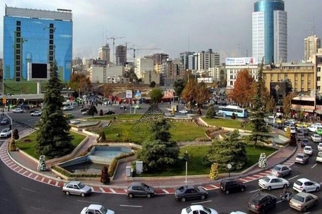 ترافیک خودروها در میدان ونک به زیر زمین انتقال می یابد