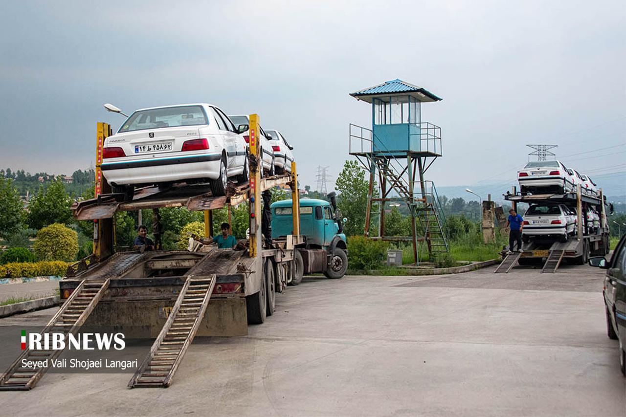 خودروهای احتکاری در بابل