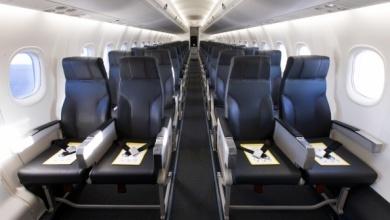 Qantas reveals first cabin upgrade for Bombardier turboprop fleet