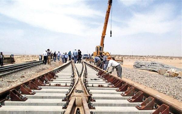 ۳۰ کیلومتر از راهآهن اردبیل - میانه ریلگذاری شد