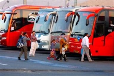 ۱۶ هزار اتوبوس بدون افزایش قیمت به مسافران نوروزی سرویس میدهند