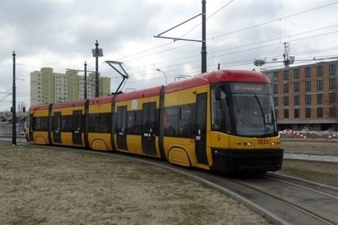 Warszawa tram extension contract signed