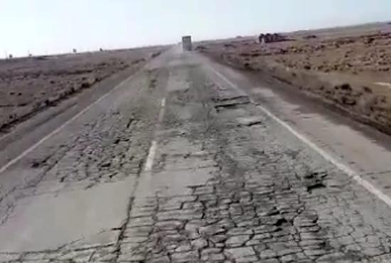 وضعیت وخیم جاده تاتو در ارمنستان و مشکلات رانندگان ایرانی
