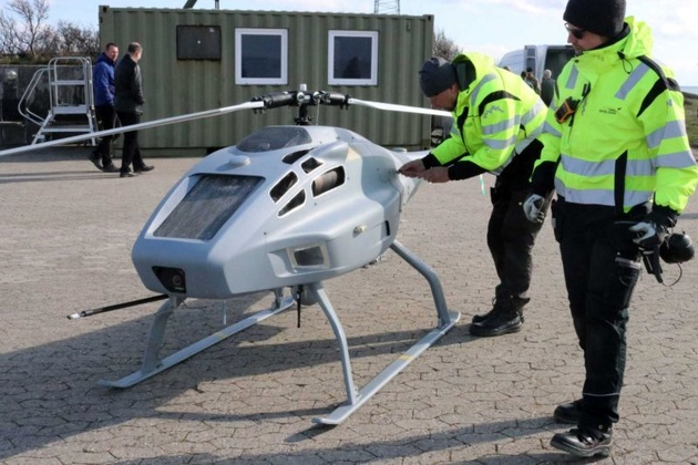 Sulphur-Sniffing Drone to Sniff Out Polluters in Danish Waters