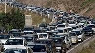 ترافیک سنگین در هراز و چالوس/ بارش باران در اردبیل