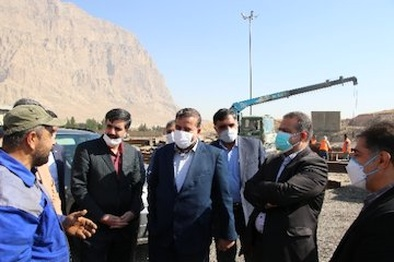 راهاندازی قرارگاه مونتاژ پلهای خرپایی غرب کشور در کرمانشاه
