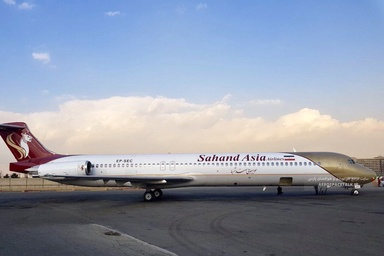 مزایده هواپیمای MD هواپیمایی سهند منتفی شد