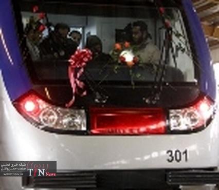 افتتاح قطار شهری شیراز با حضور معاون اول رئیسجمهور