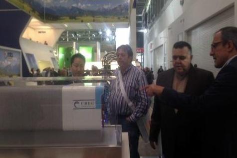 ◄ بازدید معاون وزیر راه و شهرسازی از نمایشگاه بین المللی ماشینآلات راهسازی مونیخ