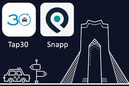 فعالیت خودروهای اسنپ با پلاک غیربومی در تهران ممنوع است