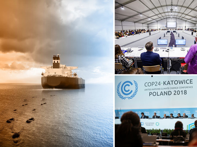 IMO focuses on strategy for shipping emissions reduction at COP 24