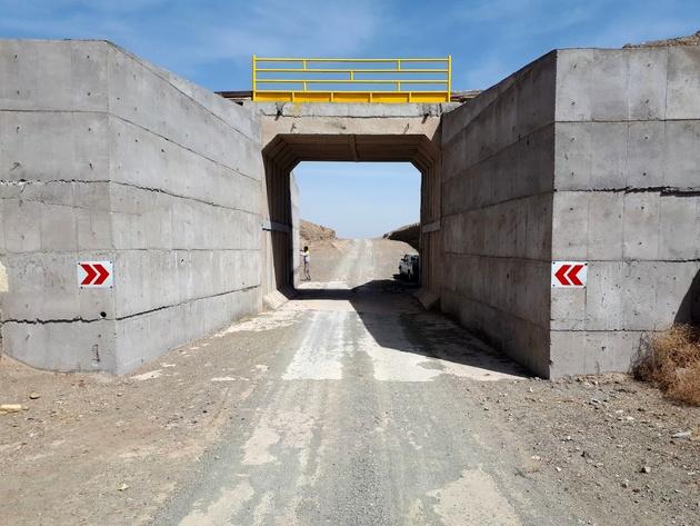 افتتاح پلهای شادمهر و گرماب در راهآهن شرق