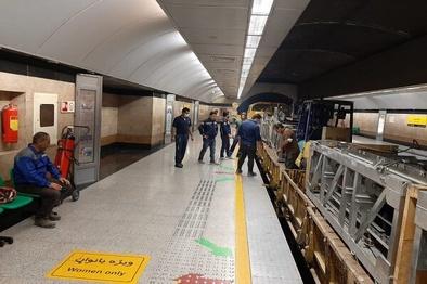 آغاز تجهیز ایستگاه تقاطعی توحید در خط ۷ مترو