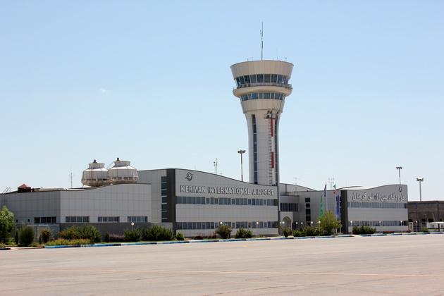 آمادگی فرودگاههای کرمان برای مقابله با سیل