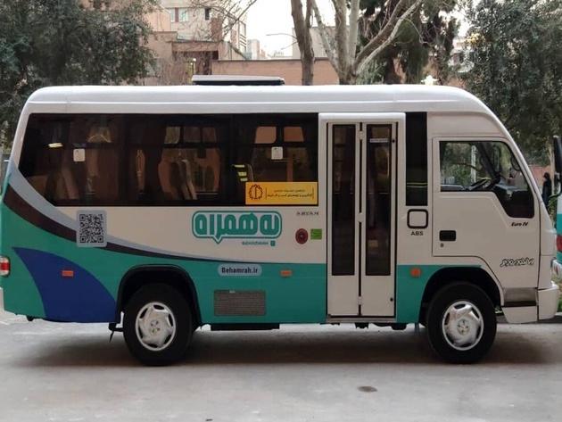 امکان رزرو صندلی اتوبوس در پایتخت از طریق اپلیکیشن تاکسی اینترنتی