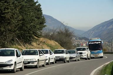 بازگشت ترافیک به محورهای شمالی/ورود و خروجی پایتخت پرتردد است