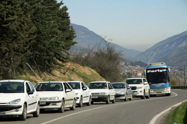ممنوعیت تردد کامیون در هراز از ساعت 12 امروز/ کندوان هم از ساعت 12 یک طرفه می شود