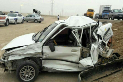 واژگونی ۶ خودرو در خراسان شمالی یک کشته داشت