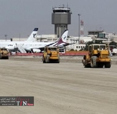 اجرای همزمان بیش از ۲۰ پروژه در فرودگاه مهرآباد