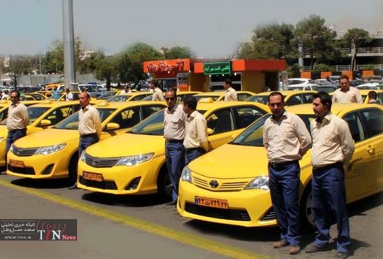 انتقاد رانندگان تاکسیهای فرودگاه از مبلغ بالای طرح ترافیک + فیلم