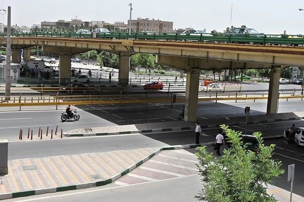 آخرین وضعیت ترافیکی مسیرهای اطراف پل گیشا