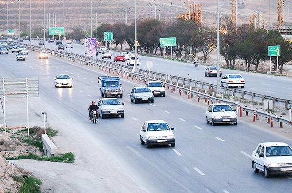 افزایش ۵.۱ درصدی تردد جادهای در ۲۴ ساعت گذشته