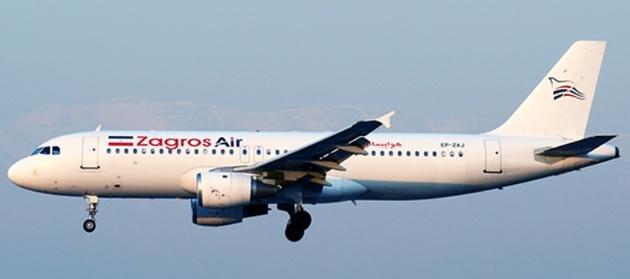 خودداری هواپیمایی زاگرس از ارائه ماسک به مسافران