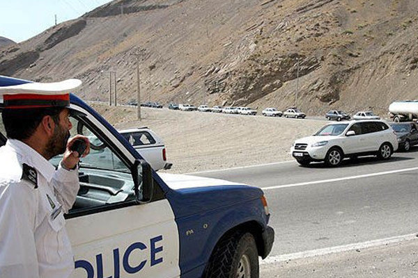 پلیس در کمین رانندگان خاطی