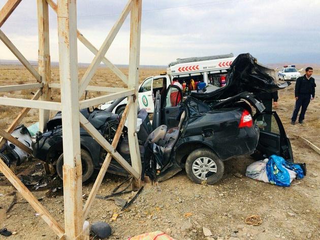 تصادفات جنوب سیستان و بلوچستان جان ۱۰نفر را گرفت