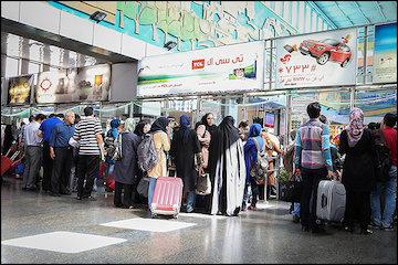 نظرسنجی مکانیزه از مسافران در ایستگاه راهآهن تهران