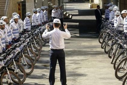 شروع بهکار پلیس دوچرخهسوار در 2 منطقه تهران